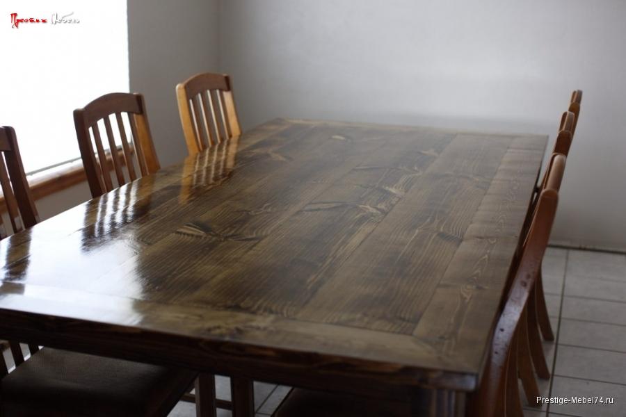 Как сделать обеденный стол своими руками из дерева