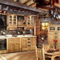 """Кухня """"Хижина в лесу"""""""