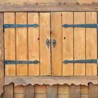 Ставни деревянные