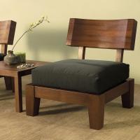 Кресло в японском стиле