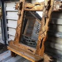 Рамки для зеркал из дерева